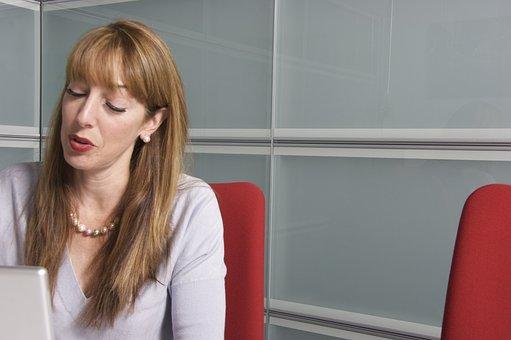 Marketing, Women, Undertake, Business, Office, Portrait