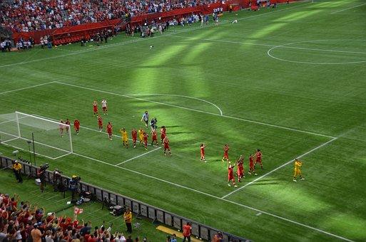 Soccer, Team, Soccer Team, Canada, Womens, Football