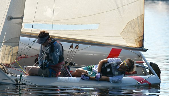 Sport, Leisure, Hamburg, Holiday, Alster, Sail, Men