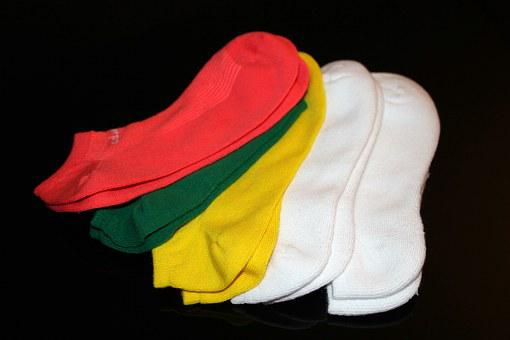 Socks, Athletic, Sport, Womens, Female, Footwear, Foot