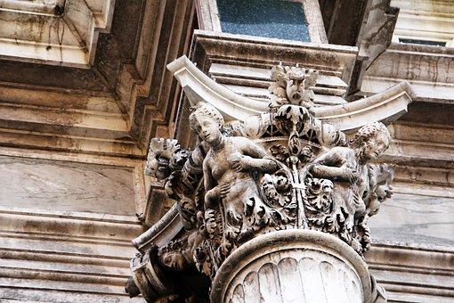 Stucco Element, Building, Ornament, Stucco