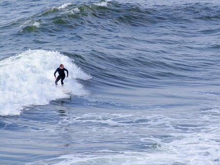Surfer, Sea, Surfing, Beach, Sport, Water, Surf, Board
