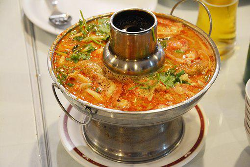 Soup, Thailand, Asia, Chili, Tom Yam, Sharp, Red, Fiery