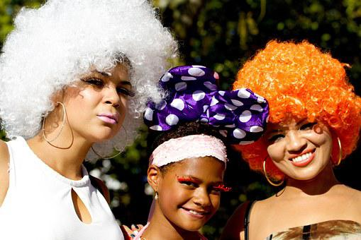 Human, Women, Portrait, Street Parade, Wigs