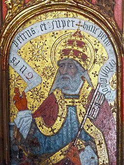 Altarpiece, Gold, Medieval Art, Detail, Pyrenees
