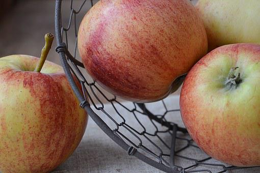 Apple, Bio Apple, Bio, Fruit, Healthy, Food, Fresh, Eat