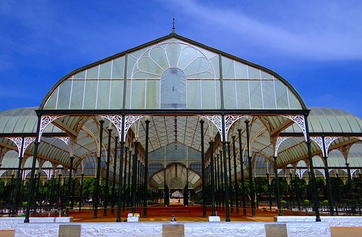 Glass House, Botanical Garden, Lal Bagh, Bangalore