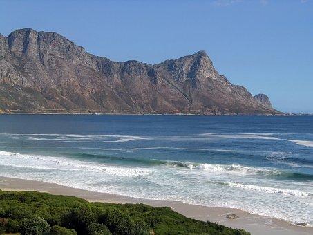 Beach, Blue, Breakers, Coast, Crags, Curl, Current