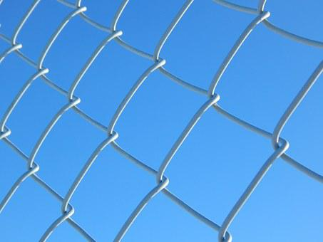 Chain Link, Fence, Chain, Link, Security, Metal