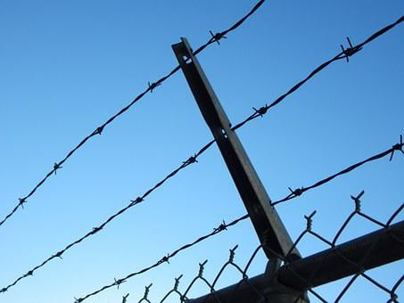 Barbed Wire, Prison, Chain Link, Fence, Barbed, Wire