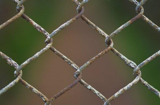 Chainlink, Fence, Chain, Wire, Metal, Security