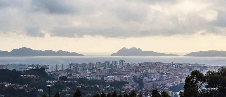 Vigo, Cíes Islands, Atlantic Ocean, Ria De Vigo