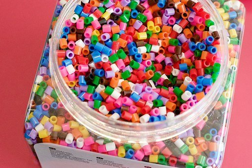 Fuse Beads, Beads, Perler Beads, Pyssla, Ikea, Colorful