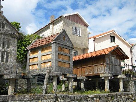Combarro, Galicia, Spain, Rias Baixas