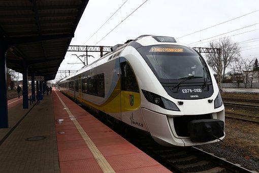 Railway, Electric Locomotive, Pkp Regio, Pulse Train