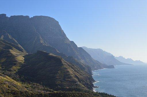 Agaete, Gran Canaria, Crag, North Of Gran Canaria