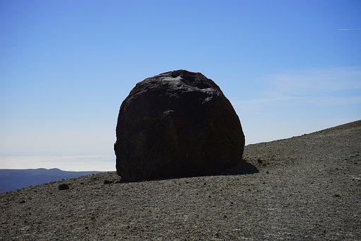 Ball, Stone, Lavaball, Stone Ball, Hike, Trail