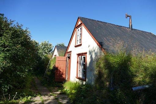 Iceland, Torfhaus, Peat, Historically, Building, Hut