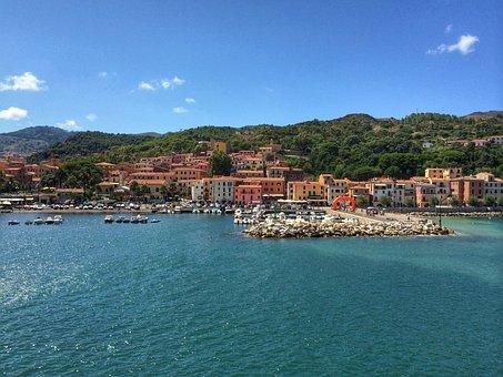 Island, Elba, Italy, Mediterranean, Italian, Travel