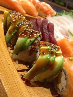 Sushi, Japanese, Jap, Food, Restaurant, Fish, Healthy