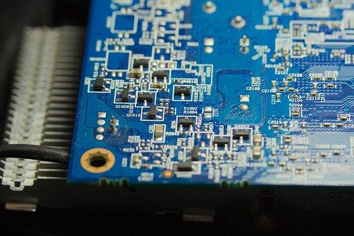 Gpu, Motherboard, Board, Micro, Pc, Parts, Chip