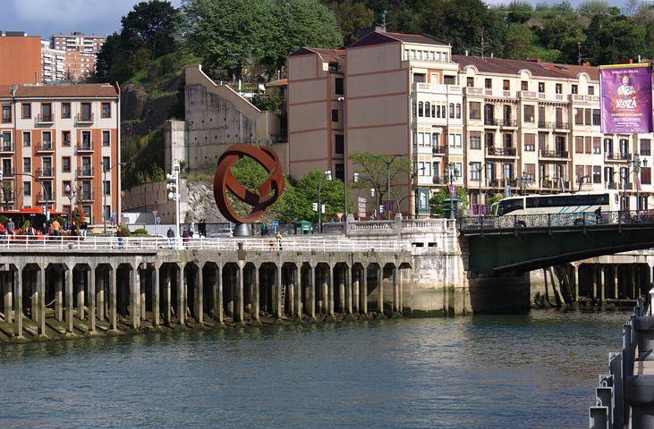 Bilbao, Monument Oteiza, Ría De Bilbao, Nervión