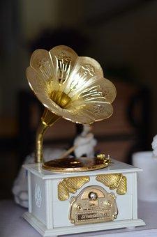 The Phonograph, Music, Ornament, Furnishings