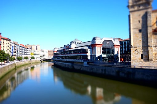 Bilbao, Market, Nervión, Ria, Euskadi, Ría De Bilbao