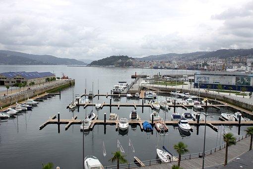 Vigo, Vigo City, Ria, Boats, Shore