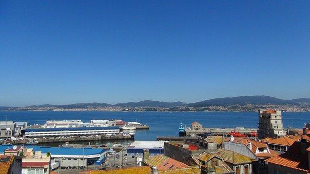 Vigo City, Ria, Urban Landscape