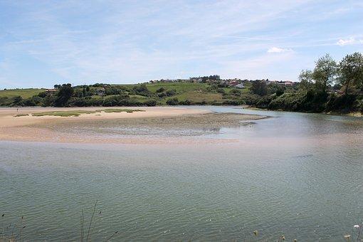 Santander, Ria, River, Sea, Landscape, Lake