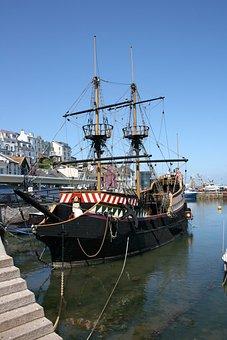 Golden Hind, Replica, Ship, Galleon, Sir Francis Drake