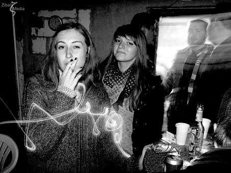 Smoking, Celebration, Smoke, Party, Be Cool, Youth