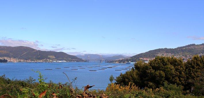 Ria De Vigo, Vao, Bateas, Galicia, Spain