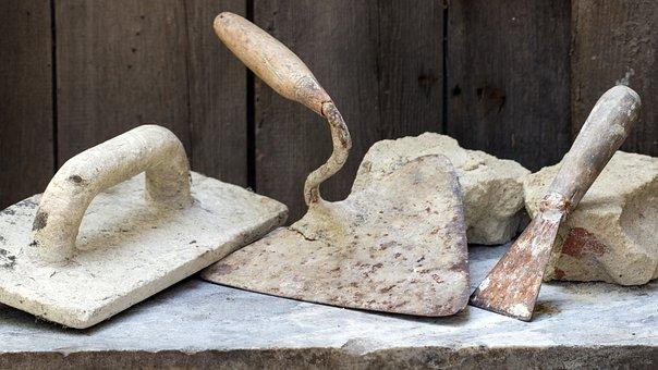 Still Life, Tool, Mauererwerkzeuge