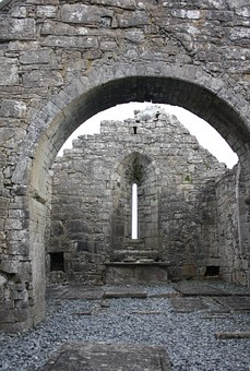 Abbey, Ireland, Monument, Ancient, Stone, Ruined