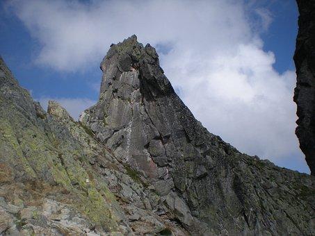 Slovakia, Tatry, Crag, Top, Rocks, Climbing, Tourism