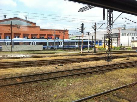 Train, Trains, Pkp, Travel, Railway, Railroad, Tracks