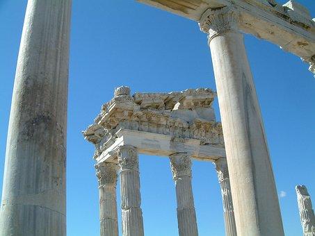Holiday, Excavations, Turkey, Temple, Anatolia