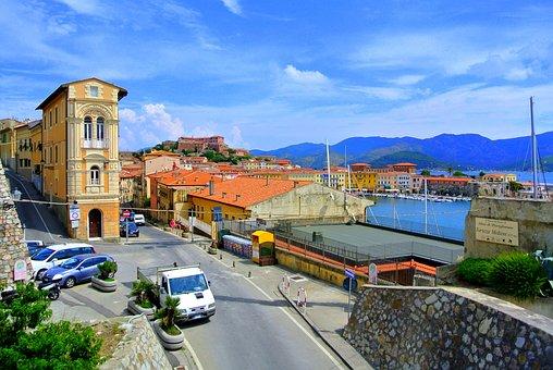 Elba, Island, Tuscany, The Mediterranean Sea, Italy