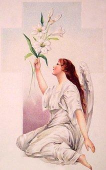 Angel, Christianity, Vintage, Mystic, Mysticism, Gospel