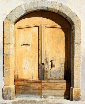 Door, Entrance, Home, House, Wood, Opening Door