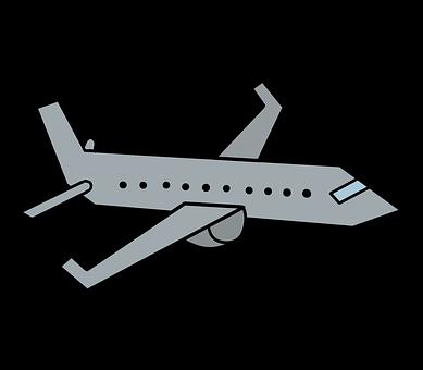 Airplane, Plane, Aircraft, Transportation, Airbus