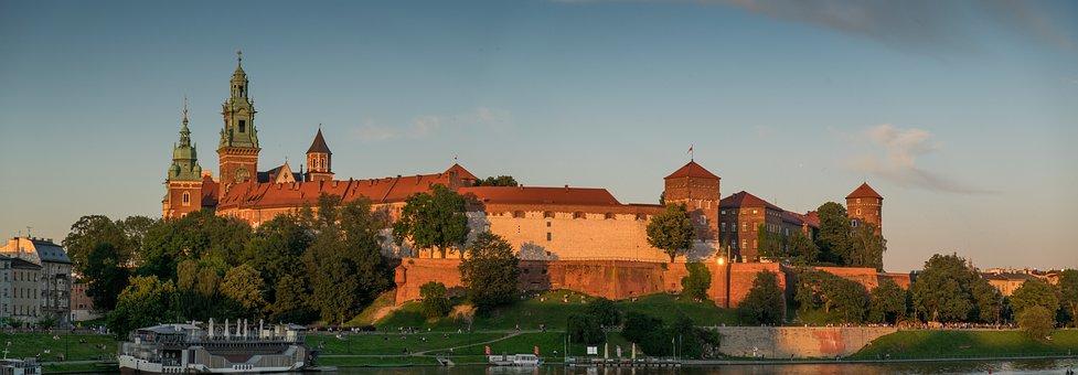 Castle, Wawel Royal Castle, Architecture, Palace