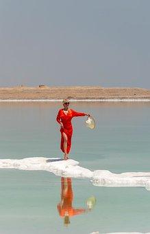 Beach, Woman, Coast, Seashore, Sea, Ocean, Water