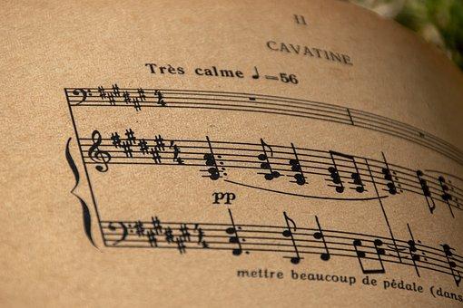 Music Sheet, Musical Sheet, Music, Classical Music