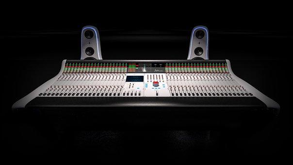 Console, Mixer, Studio, Equipment, Sound, Broadcast