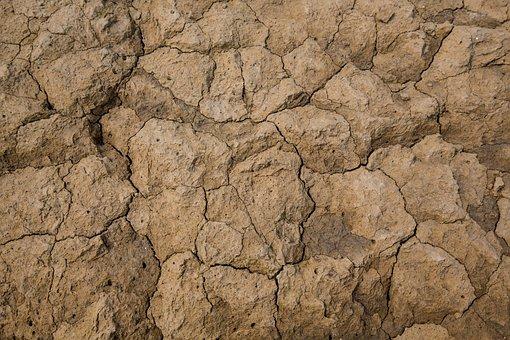 Soil, Dry Land, Land, Dry Mud, Texture, Soil Texture