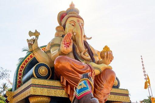 Ganesha, God, Ganeśćaturthi, Religion, Buddhism