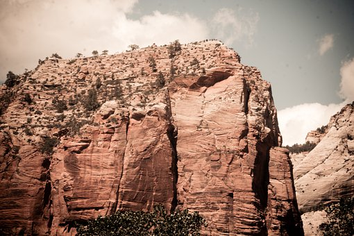 Canyon, Sandstone, Desert, Rocks, Cliff, Erosion